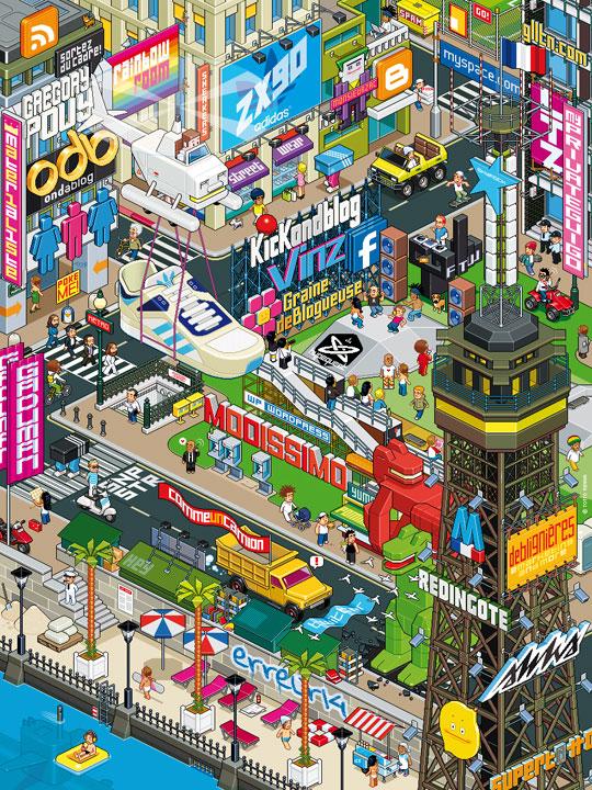 ZX90 blogger's city par Totto !